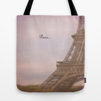 Paris... Tote Bag by Ann B.