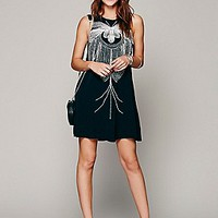 Skeletal Beaded Dress