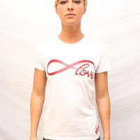 Girls Infinite Love Tee | I Love Dirty Girls Clothing