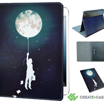 "iPad mini case from Create&Case - ""Burn the Midnight Oil"" stylish, unique and colourful Apple iPad mini case - sky, space, night, stars"