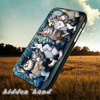 Where the Wild Things are,Case,Cell Phone,iPhone 5/5S/5C,iPhone 4/4S,Samsung Galaxy S3,Samsung Galaxy S4,Rubber,08/11/8/Qp