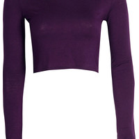 Sasha Long Sleeve Crop Top