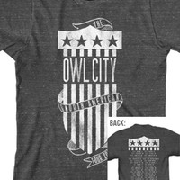 North American Tour 2013 - Owl City Tour - Official Online Store on District LinesDistrict Lines