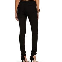 Black Sleek 2-Button Pants