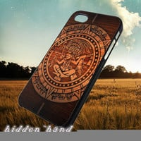 Aztec Wood Circle,Case,Cell Phone,iPhone 5/5S/5C,iPhone 4/4S,Samsung Galaxy S3,Samsung Galaxy S4,Rubber,11/07/11/Nt