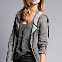 French Terry Moto Jacket - Victoria's Secret