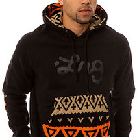 The LRG Alpiner Pullover Hoody in Black