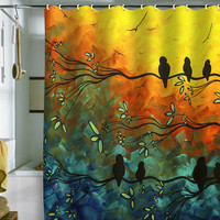 DENY Designs Home Accessories | Madart Inc. Birds Of A Feather Shower Curtain