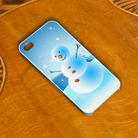 christmas snowman 2 for iPhone 4/4s/5/5s/5c case and Samsung Galaxy S2 I9100, S3 I9300, S4 I9500 case
