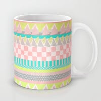 Geometric Pastel II Mug by Louise Machado