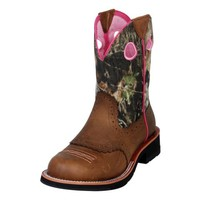 Ariat® Ladies' Fatbaby Cowgirl Boots, Distressed Brown - Tractor Supply Co.