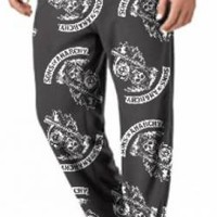 Sons Of Anarchy Lounge Pants - Soft Fuzzy Reapers