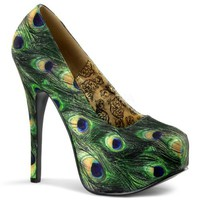 "BORDELLO TEEZE-06-5 Women's High Stiletto 5 3/4"" Heel Conceal Platform Maryjane"