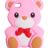 Teddy Bear iPhone 4/4S Case | Wet Seal
