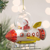 Rocket Around the Tree Ornament | Mod Retro Vintage Decor Accessories | ModCloth.com