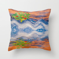 CLOUD FUN Throw Pillow by catspaws