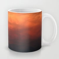 The Fiery Cloud Mug by gwendalyn abrams