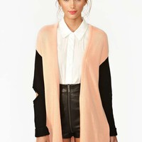 Nasty Gal Collection Backslash Cardi