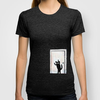 secret door T-shirt by Marianna Tankelevich