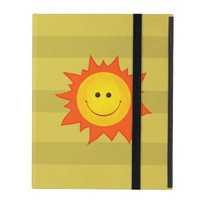 Cute Happy Smiling Sun Strap Folio