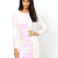 ASOS All Over Sequin Bodycon Dress