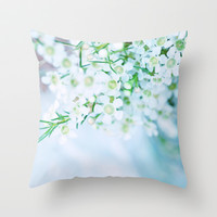 Whispered dreams... Throw Pillow by Lisa Argyropoulos