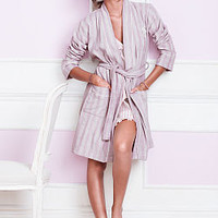 The Terry Short Robe - Victoria's Secret