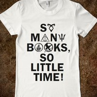 So Many Books, So Little Time! (Fandom) Harry Potter, Divergent, Hunger Games, Percy Jackson, Mortal Instruments