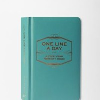UrbanOutfitters.com &gt; One Line a Day: A Five-Year Memory Book
