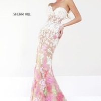Sherri Hill Prom Dress 11134 at Peaches Boutique