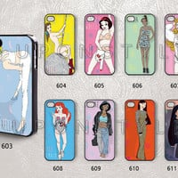 Phone Cases, iPhone 5 Case, iPhone 5s Case, iPhone 5c case, iPhone 4 Case, iPhone 4s case, Funny Princess, Case for iphone, Case No-09