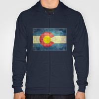 Colorado State Flag Hoody by Bruce Stanfield