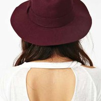 Stevie Wool Hat - Wine