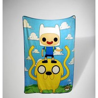 Funko Adventure Time Sky Fleece Blanket