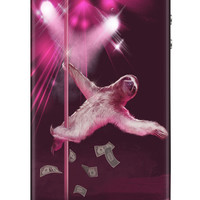 iphone 4 case, iphone 4s case, Sloth, Stripper Sloth, Slothzilla