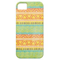 Vintage Aztec Tribal Pattern 3 iPhone Case