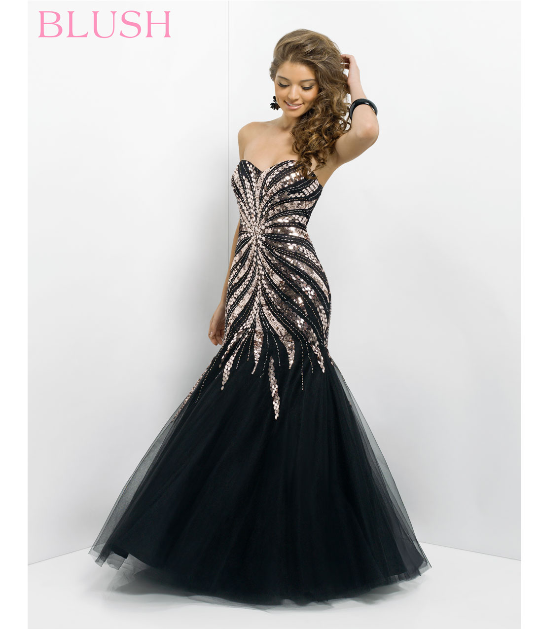 gold and black prom dresses 2014