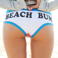 EXCLUSIVE BEACH BUM UNDIES