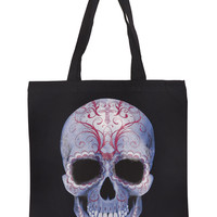 Sweetly Spooky Sugar Skull Tote Bag