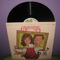 Vinyl Record Album The Carpenters - An Old Fashioned Christmas LP 1974 Traditional Holiday Classics Medleys