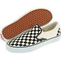 Vans Classic Slip-On? Core Classics Black & White Checkered