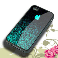 Mint Sparkle Hard plastic,Rubber iphone 4/4s,5/5s,5c,Samsung S3 i9300,S4 i9500