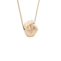 Fist Necklace - A+R Store