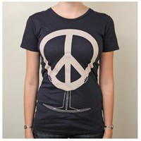 Women's Peace Holder Tee