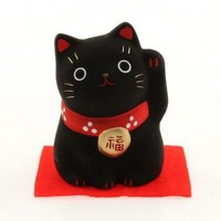 Maneki Neko Black Cat-safety