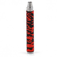 Crystallized Vape Red/Black Zebra