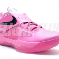 """zoom kd 4 """"aunt pearl (think pink)"""" - Kevin Durant - Nike Basketball - Nike   Flight Club"""