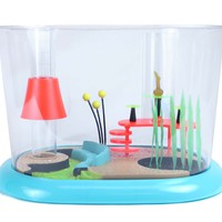 Retro Townhouse 1.6 Gallon Aquarium by FantaSeas