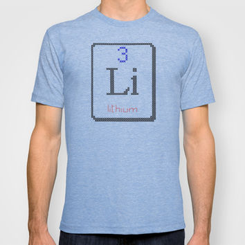 Li lithium 3 T-shirt by LacyDermy