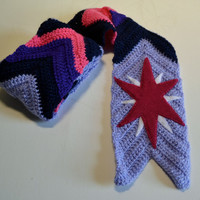 Twilight Sparkle - Crochet Scarf
